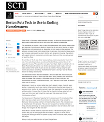 Thumbnail of Boston Puts Tech to Use in Ending Homelessness Article